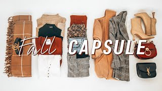 12 pieces, 60 outfits FALL Capsule Wardrobe 2020   fall outfit ideas lookbook   Miss Louie
