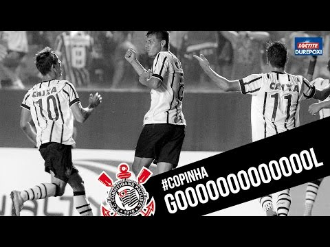 Matheus Vargas abre o placar para o Timão - #Copinha