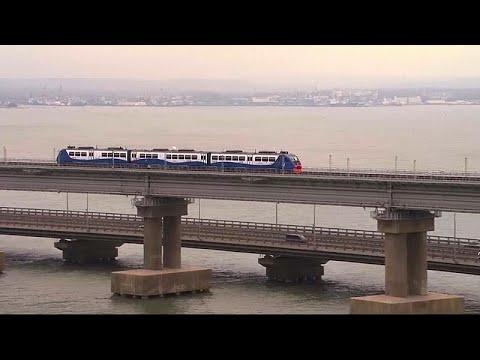 O Πούτιν εγκαινίασε την σιδηροδρομική σύνδεση Ρωσίας-Κριμαίας…