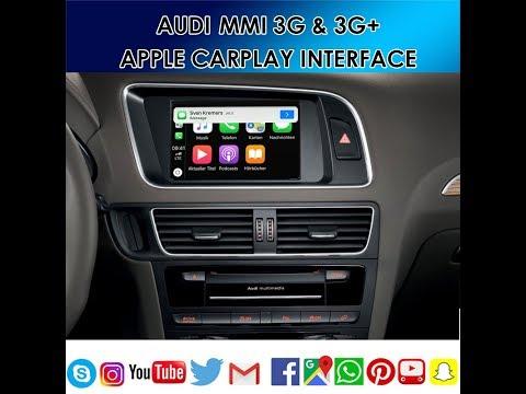 Download Wireless Apple Carplay Retrofit For Audi A6 A7 C7 Mmi 3g