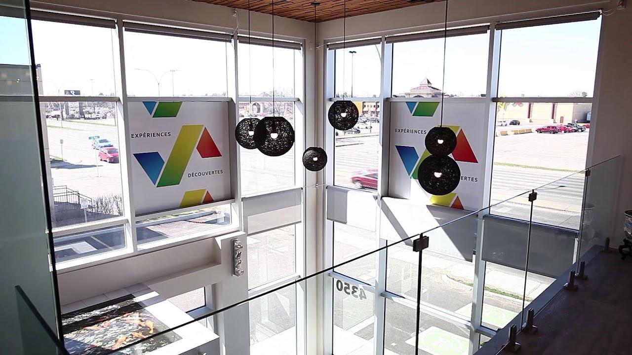 Store Voyage AEC mezzanine