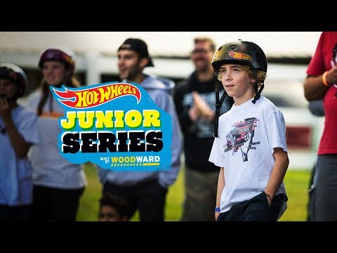 Woodward PA With Gavin And Zion - Hot Wheels Junior Series