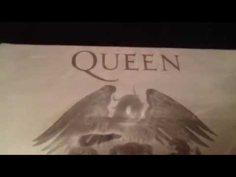 Unboxing Queen Greatest hits the platinum collection