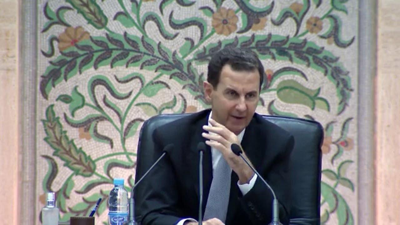 كلمة الرئيس الأسد خلال ترؤسه اجتماع وزارة المهندس عرنوس بعد أدائها اليمين الدستورية