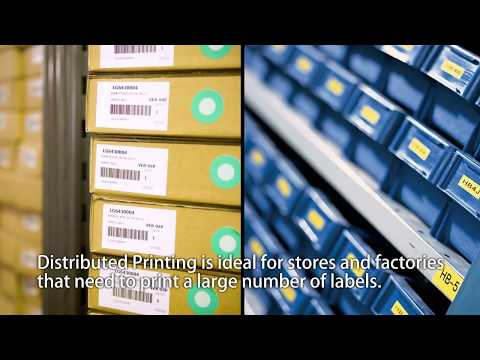 Distributed Printing Solution using Brother Professional Label Printer