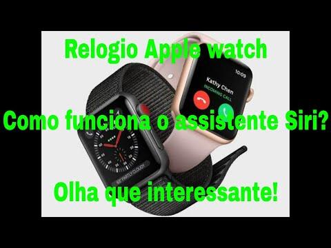 Como funciona o relógio Apple watch 3