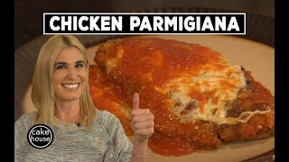 Classic Chicken Parmigiana Cake Boss Family Style! Lisa's Home Cooking EP18