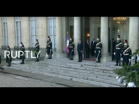 LIVE: Putin, Merkel and Zelensky arrive for Normandy Four talks (ORIGINAL)