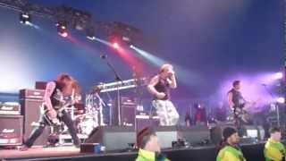 Anti-Nowhere League : So What @ Download Festival 2012