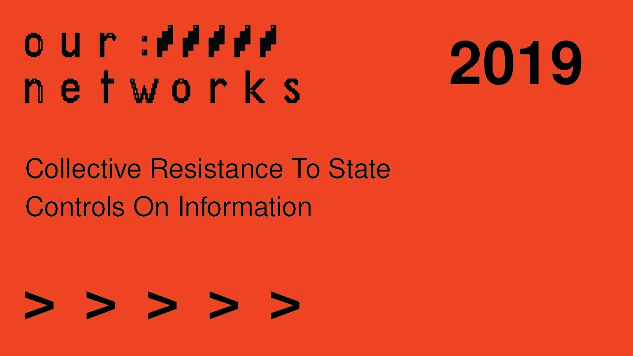 Video thumbnail for Collective resistance to state controls on information
