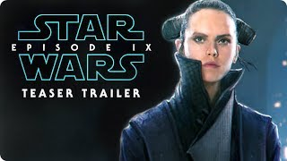 "Star Wars: Episode IX - Teaser Trailer #1 (2019) ""Remember"" Daisy Ridley, Adam Driver Concept"
