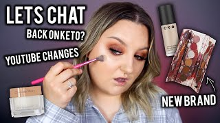 GET READY WITH ME WHILE I CHAT ABOUT LIFE