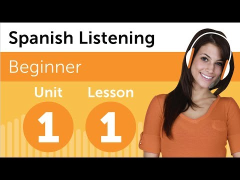 Spanish Listening Exercises 5