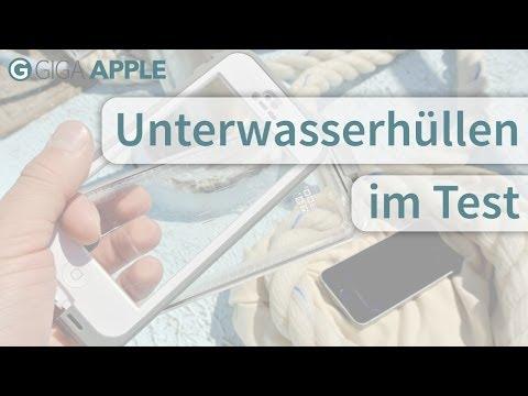Doppel-Test: Zwei Unterwasserhüllen fürs iPhone
