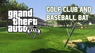 GTA 5 Online - How To Get Rare Melee Weapons | Golf Club & Baseball Bat Locations