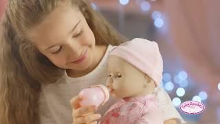 Интерактивная кукла Baby Annabell Бэби Аннабель 10-я версия с мимикой Zapf  (оригинал) 43 см арт.794401 от компании baby born - видео