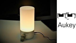 Aukey LT-T6 - Berührungsempfindliche RGB Nachttischlampe für 35€ von Amazon - Moschuss.de