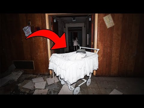 DONT GO TO AN ABANDONED CHURCH OR A HAUNTED BABY CARRIAGE WILL APPEAR! | CREEPY BABY CARRIAGE FOUND