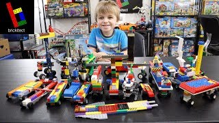 4 Year Old Shows Off His LEGO Creations