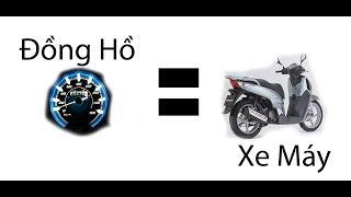Đồng Hồ Cho Xe Máy thôi đã bằng 1 Chiếc Xe máy Sao ???