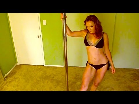 Hot Girl Sexy Pole Dance Song HD