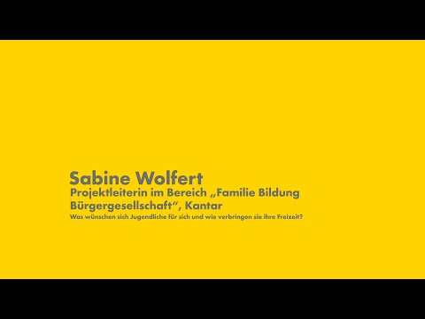 Shell Jugendstudie 2019: Sabine Wolfert
