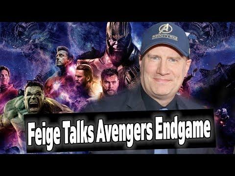 Kevin Feige Talks Avengers Endgame Trailer & Marketing! MCU News!