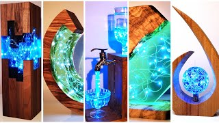 5 Most Amazing Epoxy Resin Lamps / Resin Art