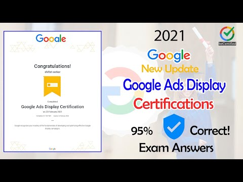 New Update | Google Ads Display Certification Exam Guidelines ...
