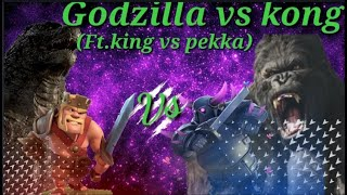 GODZILLA VS KONG (FT. BARBARIAN KING & P.E.K.K.A)🔥🔥MUST WATCH🔥🔥