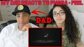 MY DAD REACTS TO Phora   Feel [Official Music Video] REACTION