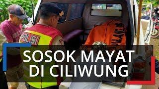 Sosok Mayat Perempuan Setengah Bugil Ditemukan di Sungai Ciliwung Bogor