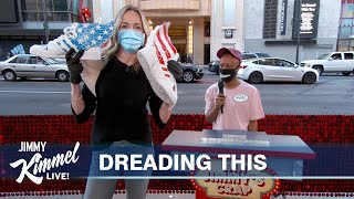 Jimmy Kimmel's Wife Molly Gives Away His Crap