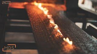 Burned wood | Kaip gimsta deginta mediena | Apsaugota WOCA lauko alyva