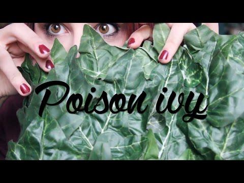 My DIY Poison Ivy Costume!