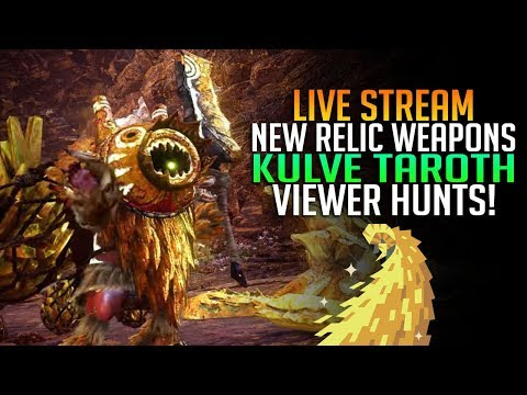 monster hunter world relic weapons