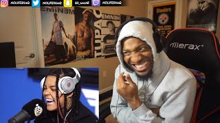 YOUNG M.A   FUNK FLEX FREESTYLE (REACTION!!!)