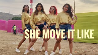 Gambar cover She Move It Like - Badshah | The BOM Squad | Happy New Year