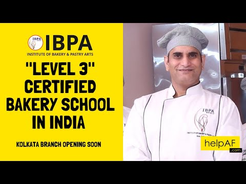 Bakery and pastry Level 3 Certified Bakery School in India   IBPA ...