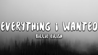 Billie Eilish Everything I Wanted Lyrics