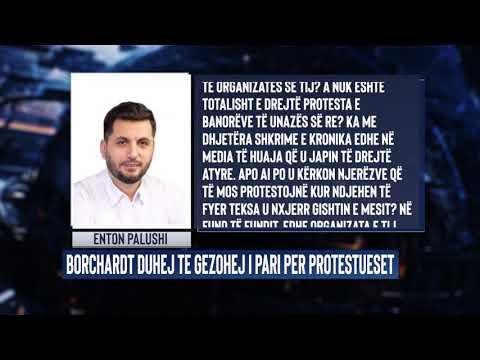 Opinio nga Enton Palushi - Ja pse Bernd Borchardt duhej të gëzohej i pari për protestueset