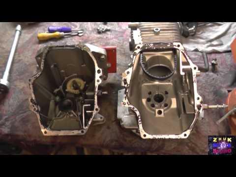 Разборка и сборка двигателя Хонда GC-160 мотоблока Салют 5Х