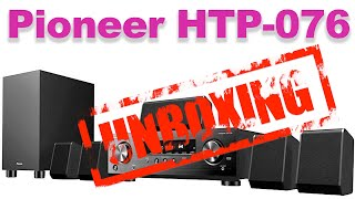 Pioneer HTP-076 | Home Theater in a box (HTIB) | Unboxing