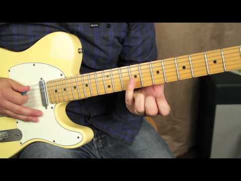 Blues Guitar Lessons - Intermediate and Advanced blues solo lead guitar lesson