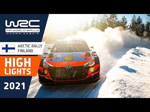 WRC 2021 第2戦のラリーフィンランド ハイライト動画