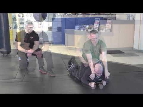 Mastering Krav Maga Online:  Garotte Defense Face Down (Black Belt)