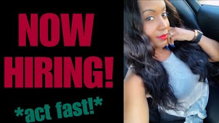 New Work From Home Job! (this won't last)