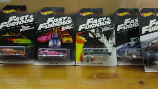 NEW 2016 FAST & FURIOUS 8 CAR SET BY HOT WHEELS