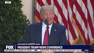 FULL NEWSER: President Trump blasts Biden, NAFTA during Rose Garden remarks