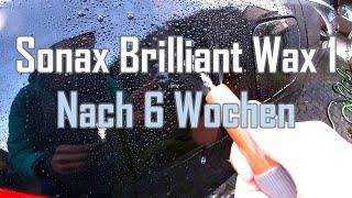 Sonax Xtreme Brilliant Wax 1 || Update nach 6 Wochen || Hat die Versiegelung nachgelassen?